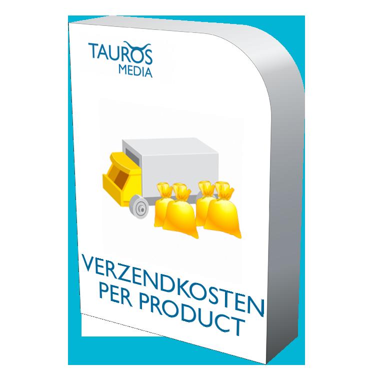 Magento verzendkosten per product