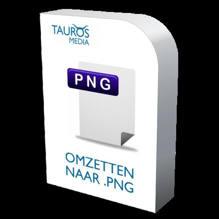 Afbeelding omzetten PNG