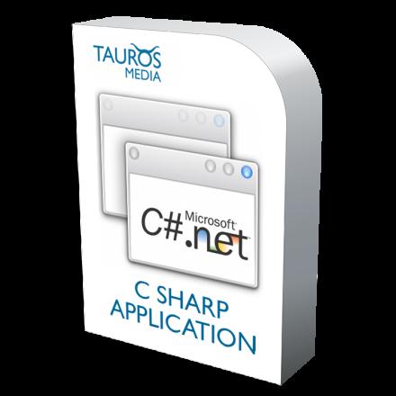 C sharp application