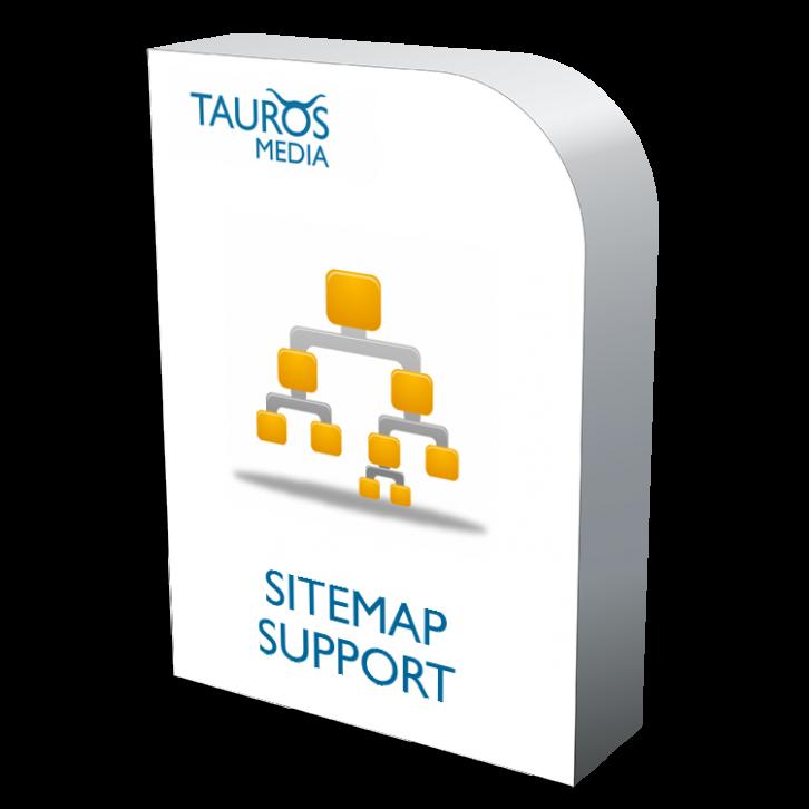 sitemap support