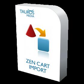 zen cart import
